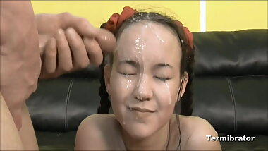 Big Facial Teen