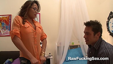 Raw Fucking Sex - Sexy Kim Tao Enjoys A Hard Pounding