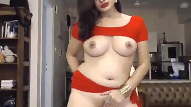 Indian model live show